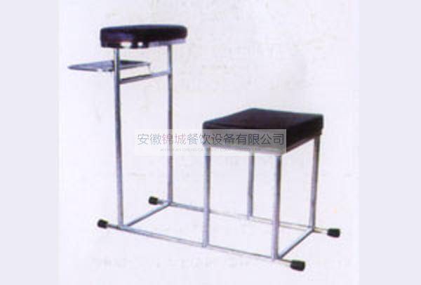 不锈钢正坐注射椅