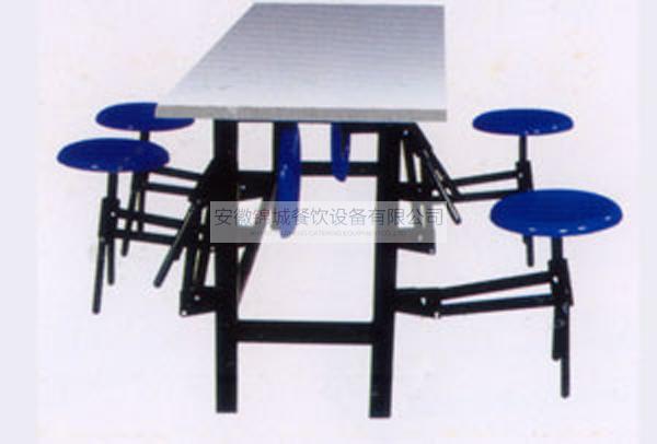 30人玻璃钢6人折叠餐桌