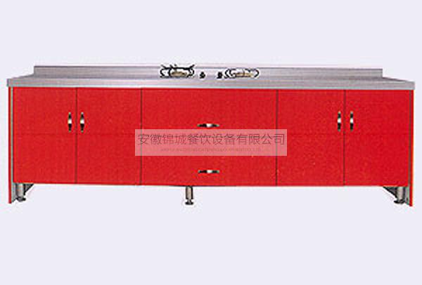 不锈钢整体橱柜
