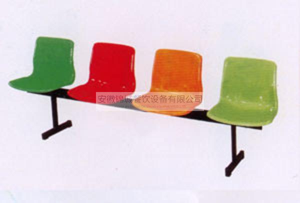 四人座玻璃钢靠背排椅