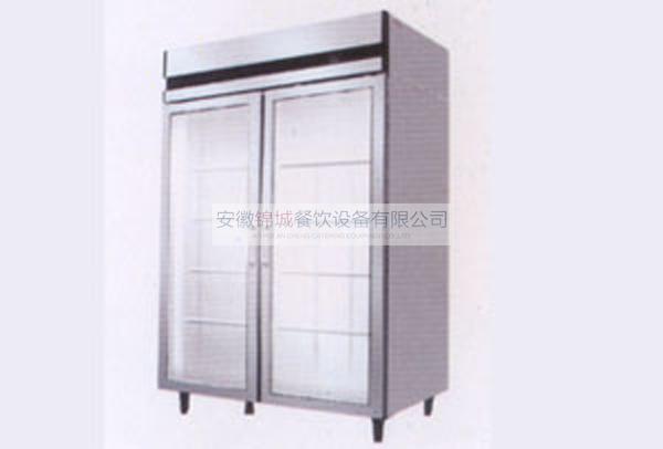 双门玻璃门展示柜